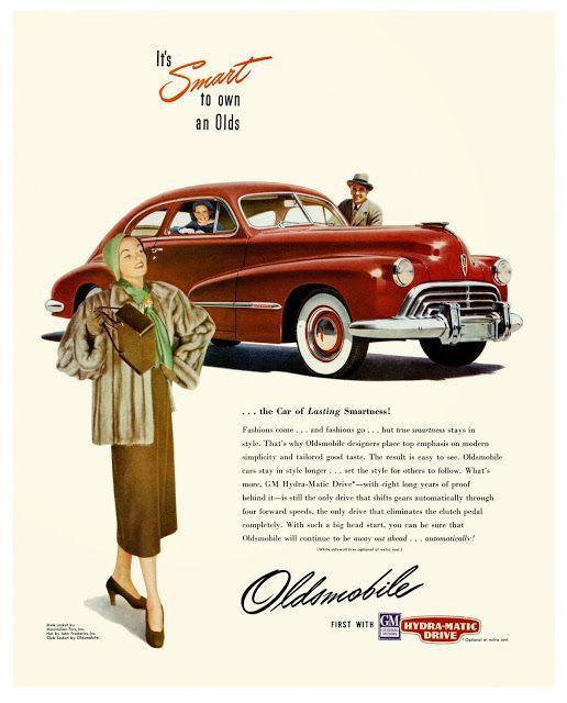 canadian jacket 1947 Oldsmobile