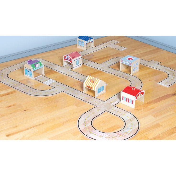Guidecraft Community Buildings Set - 6 Pieces - G6716