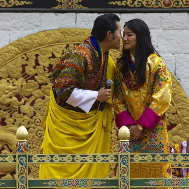 King Jigme Khesar Namgyel Wangchuck and the 25-year-old Queen have been married since 2011 Photo Getty Images