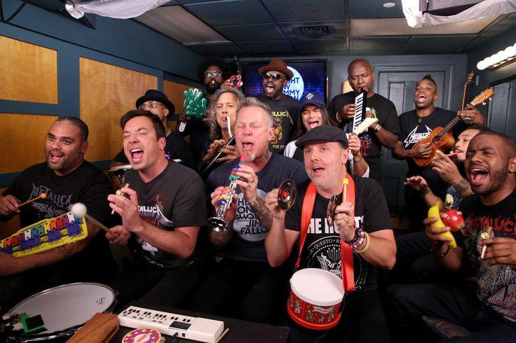 El giro al humor de Metallica logró lo que su nuevo disco no