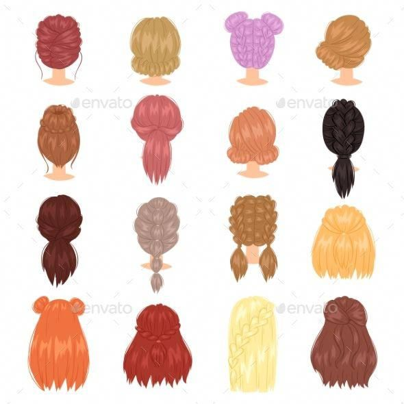 Asian Hairstyles Easy Updos For Medium Length Hair Hair Do For Long Hair 20190127 Medium Length Hair Styles Hair Vector Medium Hair Styles