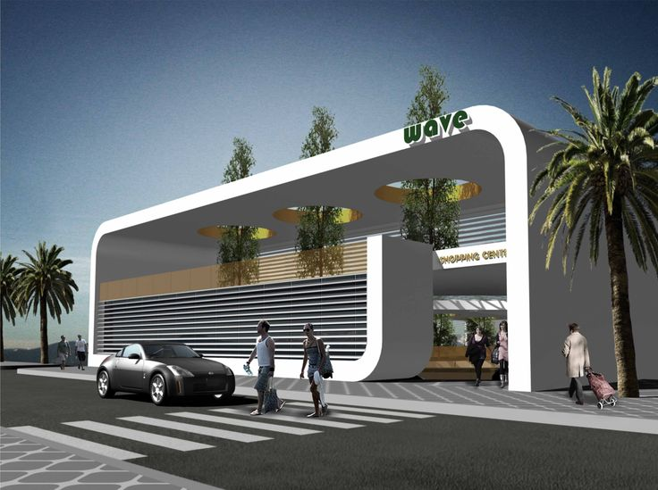 The Wave - Commercial Centre (Competition)