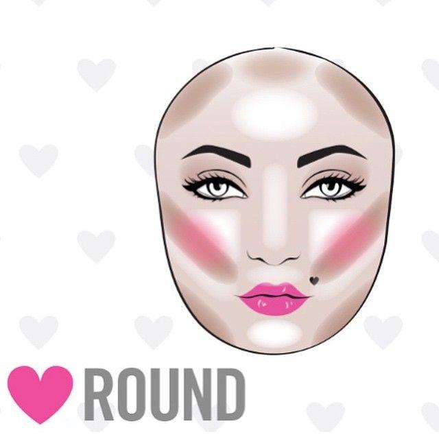 Sensational 1000 Ideas About Round Face Makeup On Pinterest Apply Blush Short Hairstyles Gunalazisus