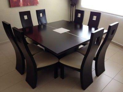 juego de comedor de 8 sillas