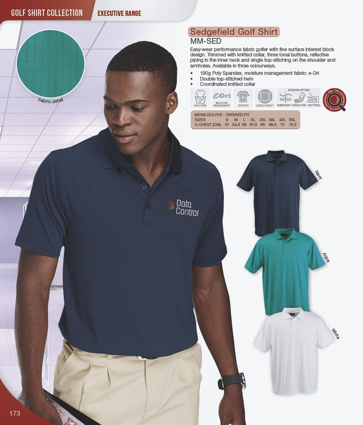 Sedgefield Golfer | Golf Shirt | Barron