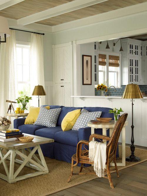 East Beach House: Charming Home Tour. Country Farmhouse DecorFarmhouse ...