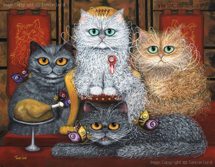 'The Moggy Monarchy' by Tamsin Lord