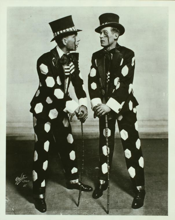 James Doyle and Harland Dixon, 1917. Vaudeville Soft shoe Dancers.