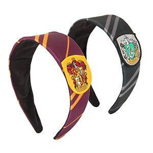 Harry Potter Hogwarts Crest Headbands | ThinkGeek