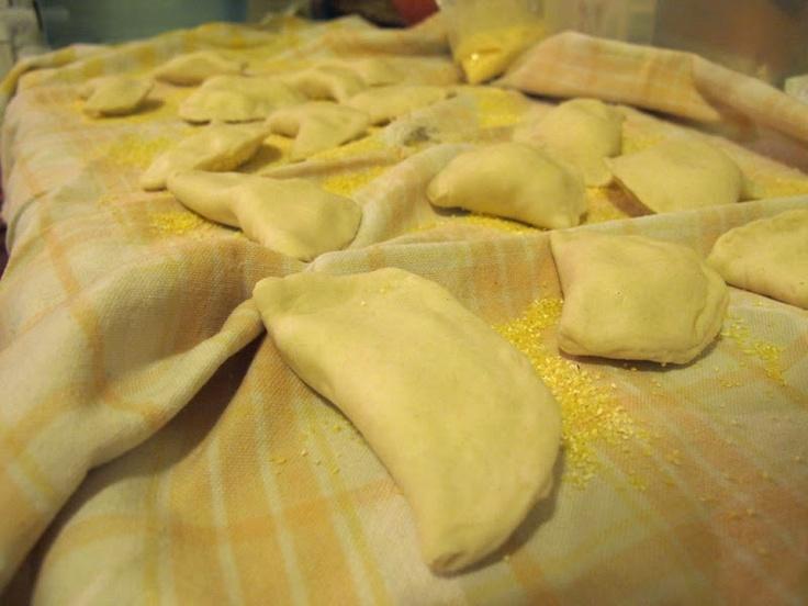 BASIC PIEROGI Makes about 5 dozen/ Martha's moms | A Forkful of Pasta ...