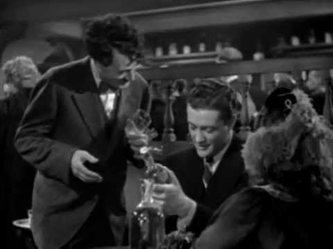 Liquore Strega scene from 'Kitty Foyle'  (1940) w/Ginger Rogers as included in my blogpost 'The Lure of the Liqueur'