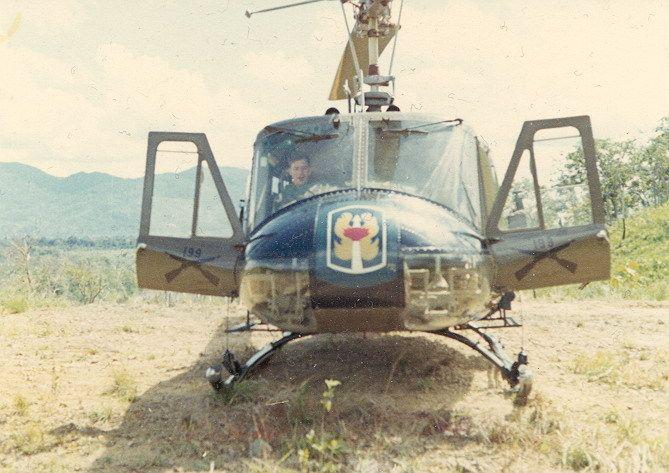 Command and Control ship, 199th LIB 1968.