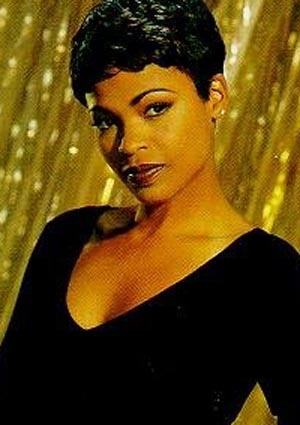 Nia Long from the movie Friday. I love her hair. I used to take pics of her haircuts to my stylist to recreate on me. Love her style