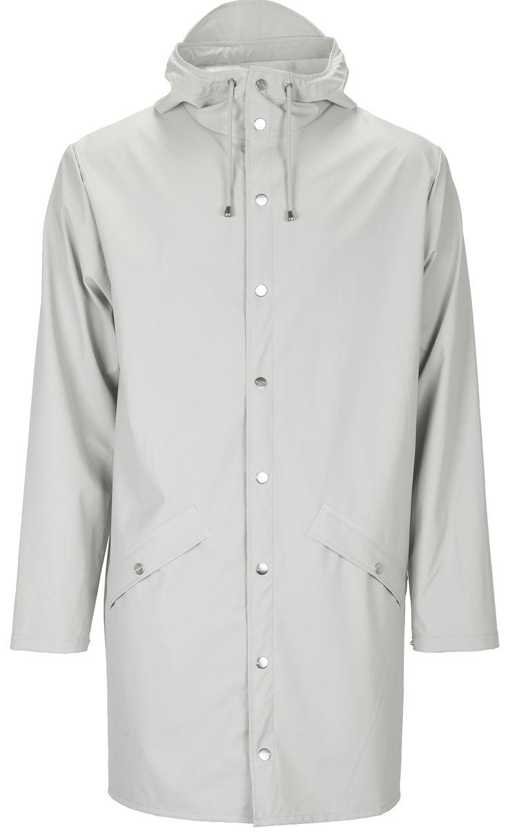 Deze Rains Long Jacket regenjas kopen voor €95,-? Stijlvolle regenjas met comfortabele pasvorm