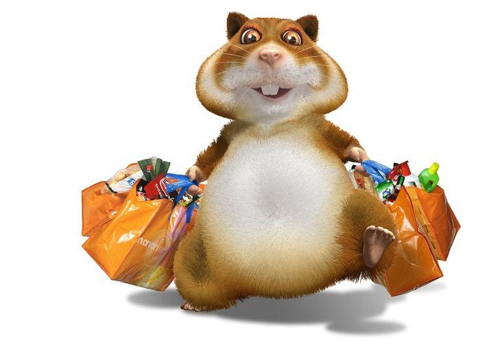 die hamsters van de AH kopen ook veel te veel eten
