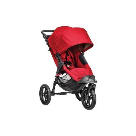 """Baby Jogger Прогулочная коляска Elite Single  — 47710р. -------- Прогулочная коляска """"Elite Single"""" красного цвета марки Baby Jogger. Простая в использовании, легкая и ультра-компактная прогулочная коляска идеально подходит для прогулок с ребенком в любой городской местности, а также для путешествий и поездок. Трехколеснаямодель оснащена полностью лежачим положением спинки, большим капюшоном, регулируемой подножкой, бампером и вентилируемой спинкой. Одна из ключевых особенностей коляски…"""