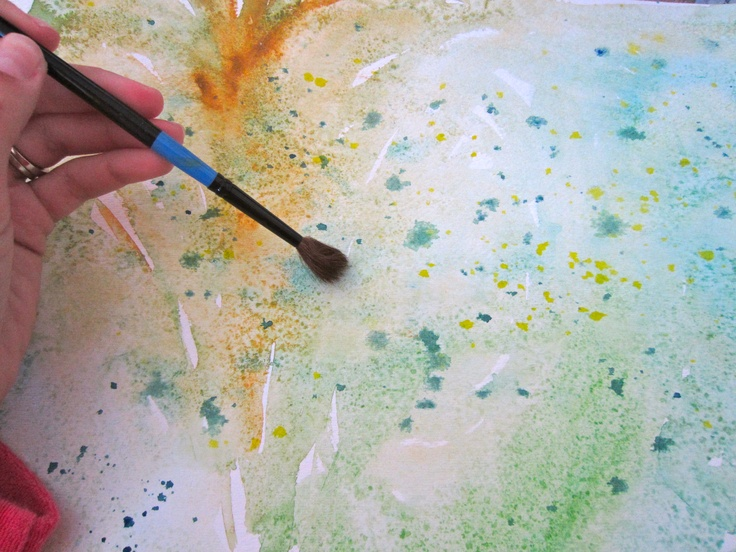 Pin by chanda zest it up on zest projects pinterest for Cool watercolor tricks