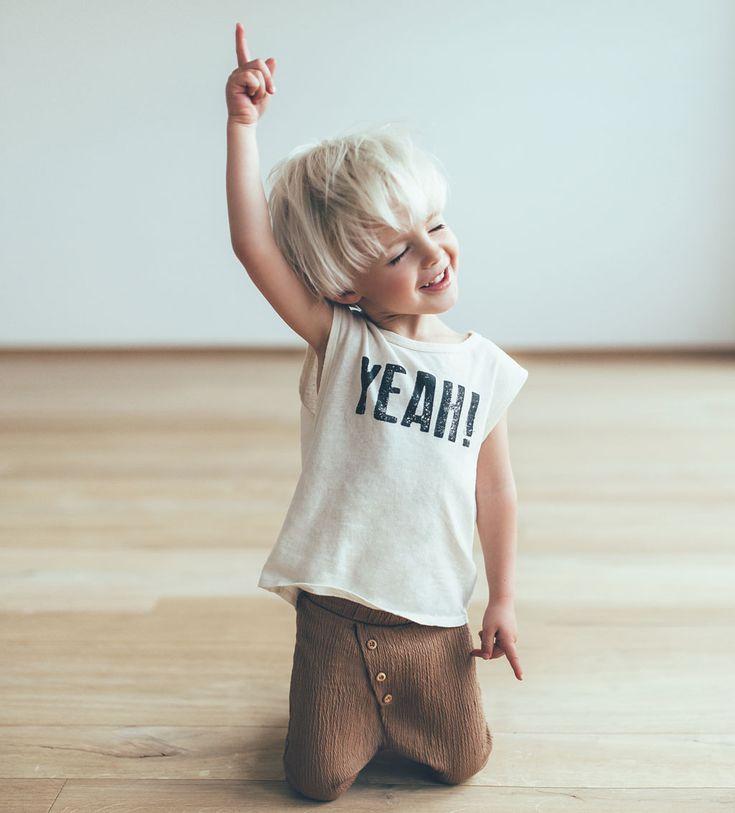 """ Yeah "" T-shirt-View all-T-SHIRTS-BABY BOY   3 months-3 years-KIDS   ZARA United States"