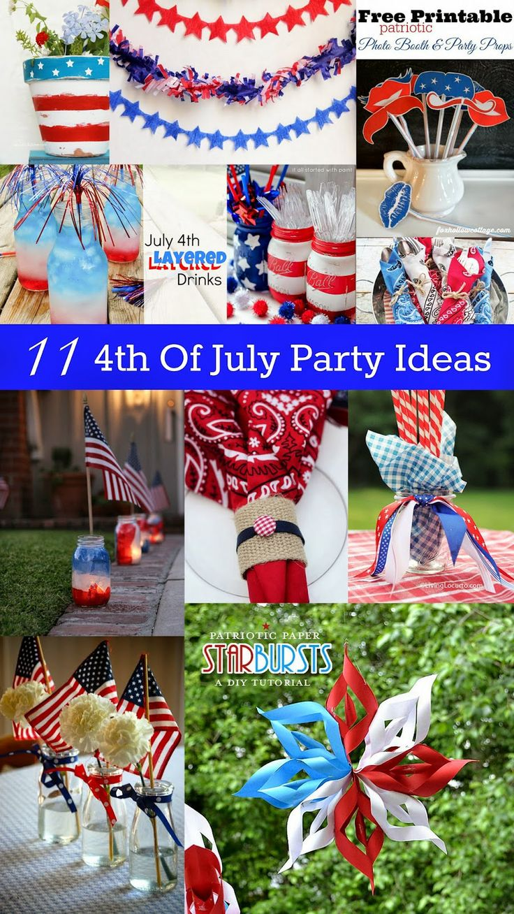 11 4th of july party ideas housewife parties and 4th of