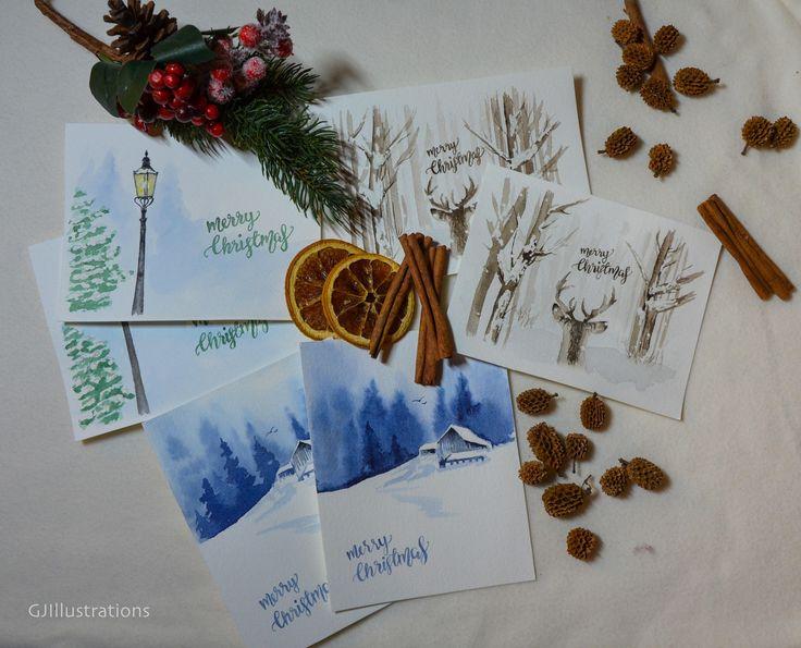 25 einzigartige aquarell weihnachten ideen auf pinterest aquarell weihnachtskarten aquarell - Aquarell weihnachten ...