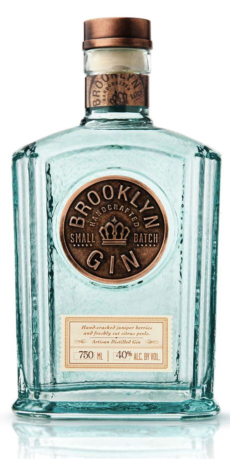 Brooklyn Gin. Just picked up one of these gorgeous bottles for my bar tray