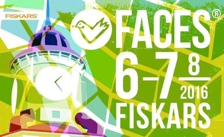 Faces Festival 2016 - Fiskarsin Ruukkikylä, Fiskari - 6. - 7.8.2016 - Tiketti