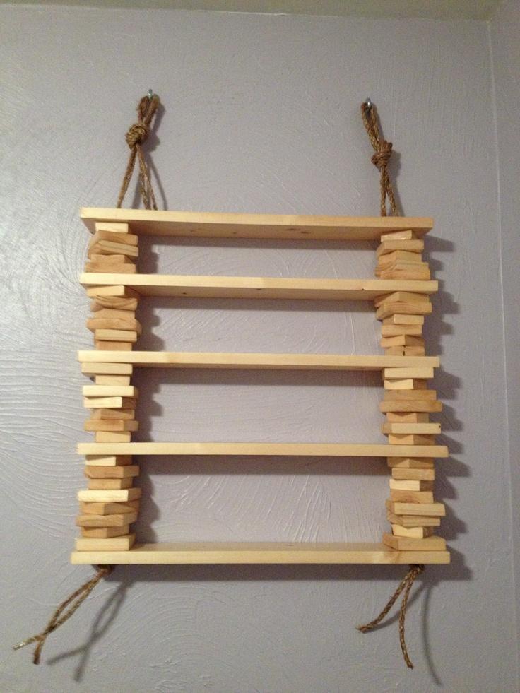 Homemade Shelves 2