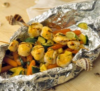 Thai-Spiced Grilled Scallops | Recipe