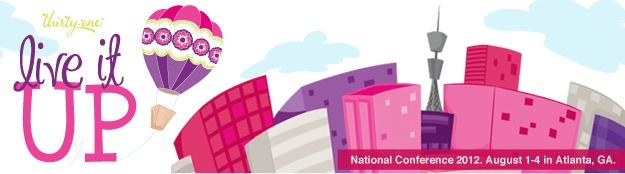2012 Thirty-One National Conference, Atlanta, GA