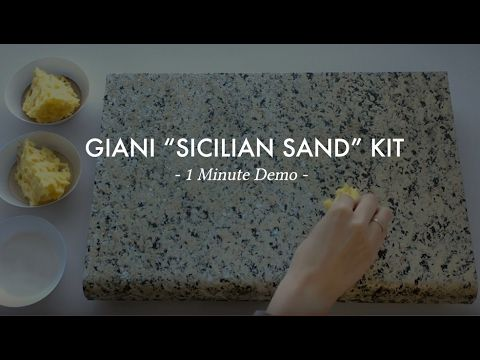 Sicilian Sand Kit Giani Countertop Paint Painting