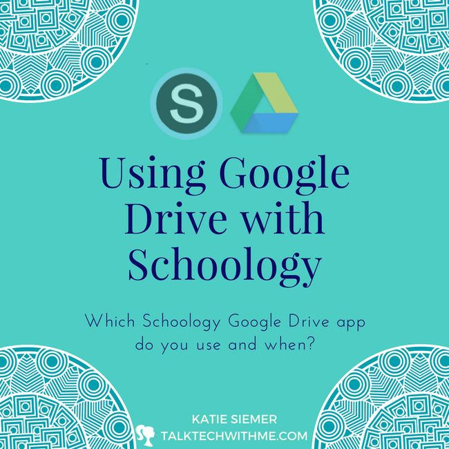 Which Google Drive App Do I Use with Schoology?