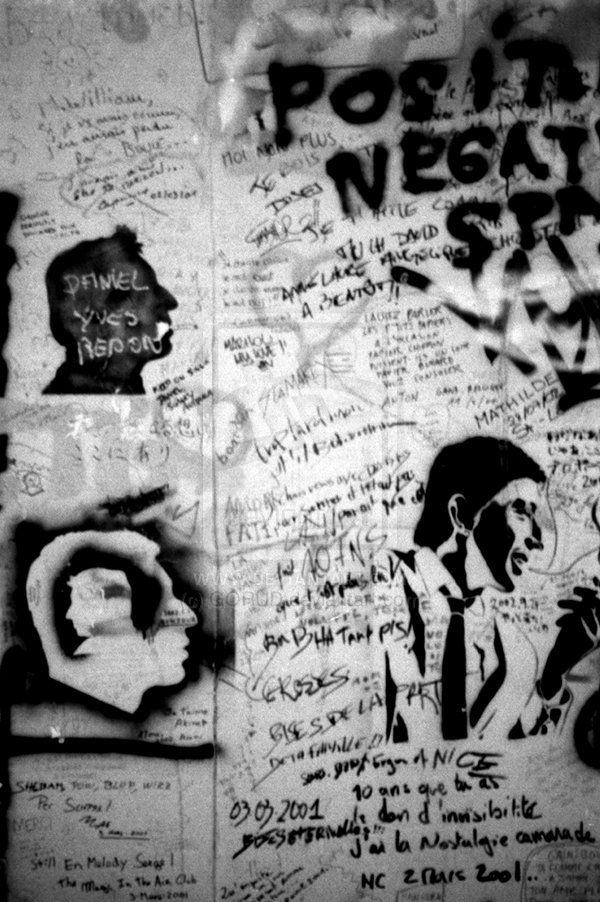 Gainsbourg Graffiti 4 by GORUD.deviantart.com on @deviantART #Photography #BW #Art #Portrait  #Gainsbourg