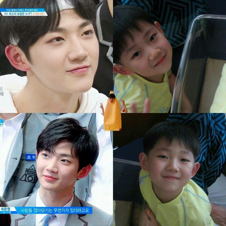Very cute Ahn Hyungseob !!!