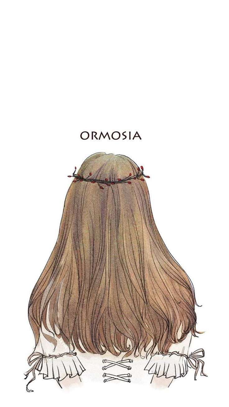 Pin oleh KOOKIE 🐰🐾 di Anime girls Menggambar rambut