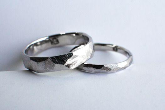 """Обручальные кольца """"Матовые грани"""""""