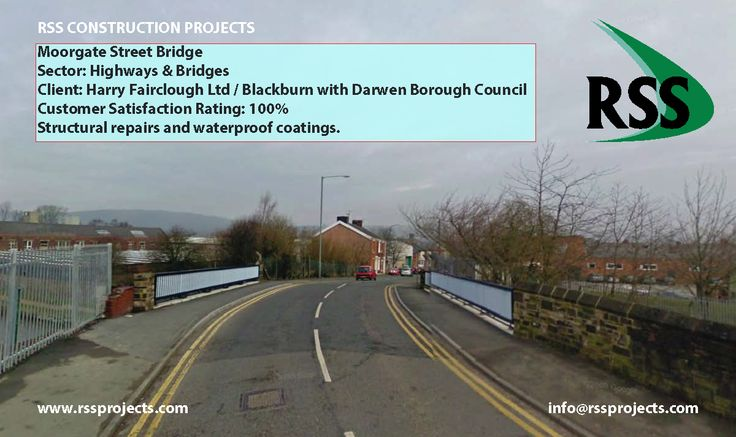Structural Repairs and Waterproof Coatings. http://www.rssprojects.com/Case Studies/moorgate-street-bridge