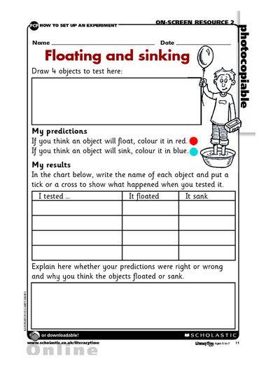 floating and sinking science sailing sinking soaring pinterest school kindergarten. Black Bedroom Furniture Sets. Home Design Ideas