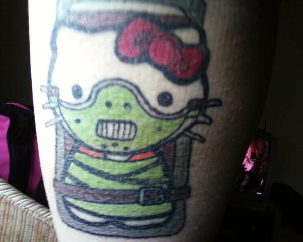 15 Utterly Bizarre Hello Kitty Tattoos
