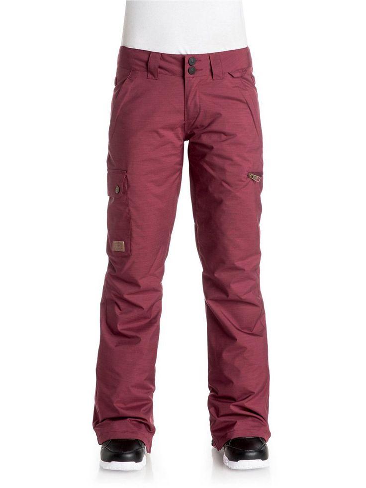 Image 0: Pantalon Snowboard Femme DC Recruit Cordovan Rouge