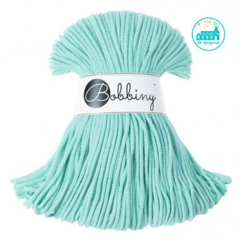Bobbiny Garen Mint 3 mm dik