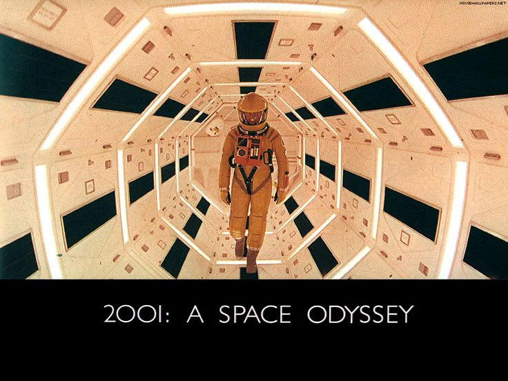 2001 A SPACE ODYSSEY (1968) - The story deals with a series of encounters between humans and mysterious black monoliths that are apparently affecting human evolution, and a space voyage to Jupiter tracing a signal emitted by one such monolith found on the moon.