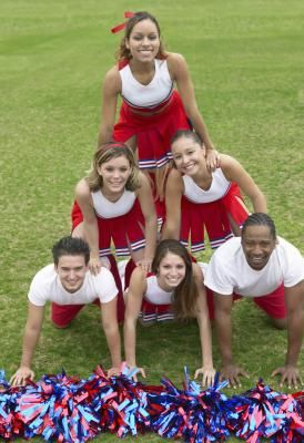 Cheerleading exercises for bases Livestrong.com