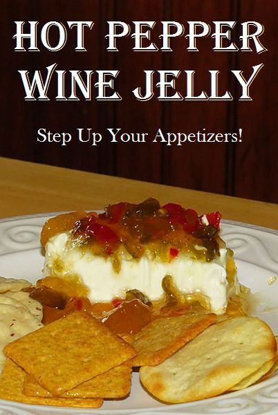 Hot Pepper Wine Jelly can be as mild or hot as you'd like. Choose the hot pepper corresponding to the amount of heat you want. via @RobinFollette