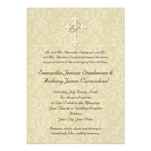 11 best Wedding Invitations images on Pinterest Christian weddings - invitation wording for candle party