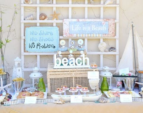 Coastal Decor Beach Nautical DIY Decorating Crafts Shopping
