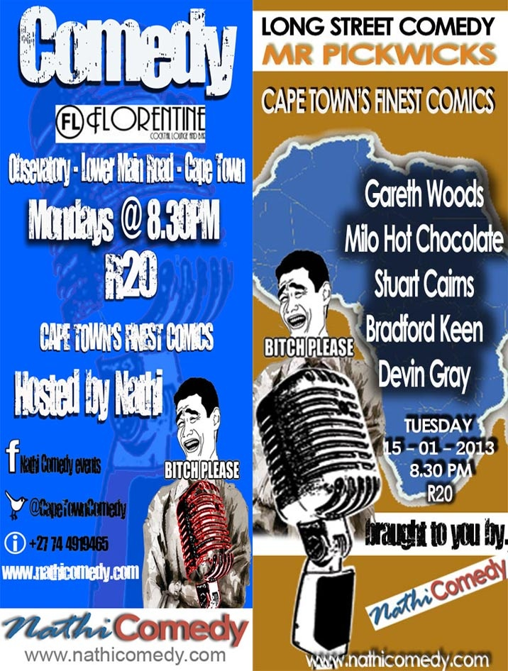 Nathi Comedy Presents Comedy in Cape Town