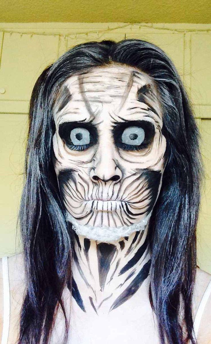Maquillage Halloween marcheur blanc - tutos et idées pour hommes et femmes