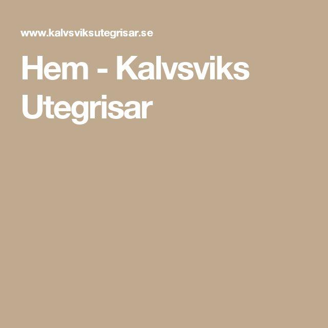 Hem - Kalvsviks Utegrisar