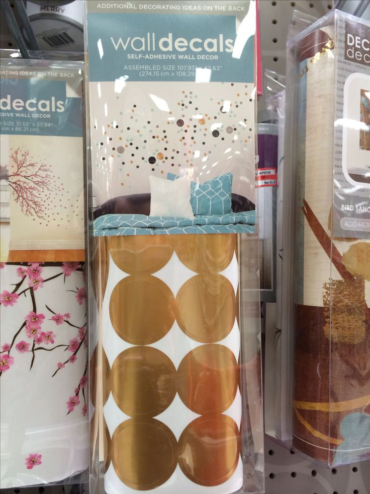 Gold dot wall decals at Target!!