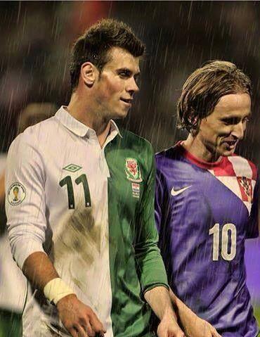Bale and Modric ;)